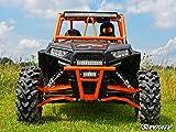 Super ATV Red Front Bumper Polaris RZR 1000 / Turbo
