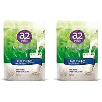 A2 全脂袋装成人学生老人奶粉1kg (2袋)