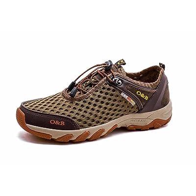 Hommes Respirant Randonnée Chaussures D'été Mesh Tissu Sports de Plein Air Chaussures Taille 38-45