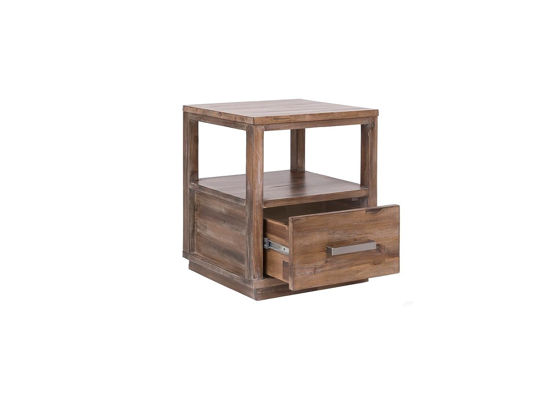 7f4eb5bbb8bb2e ... Woodkings Nachttisch Woodville Akazie Rustic Schlafzimmer Massivholz  Beistelltisch Nachtkommode Design Massive Naturmöbel Echtholzmöbel günstig  ...