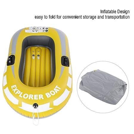 Amazon.com: VGEBY - Canoa hinchable para pesca, 1 persona ...