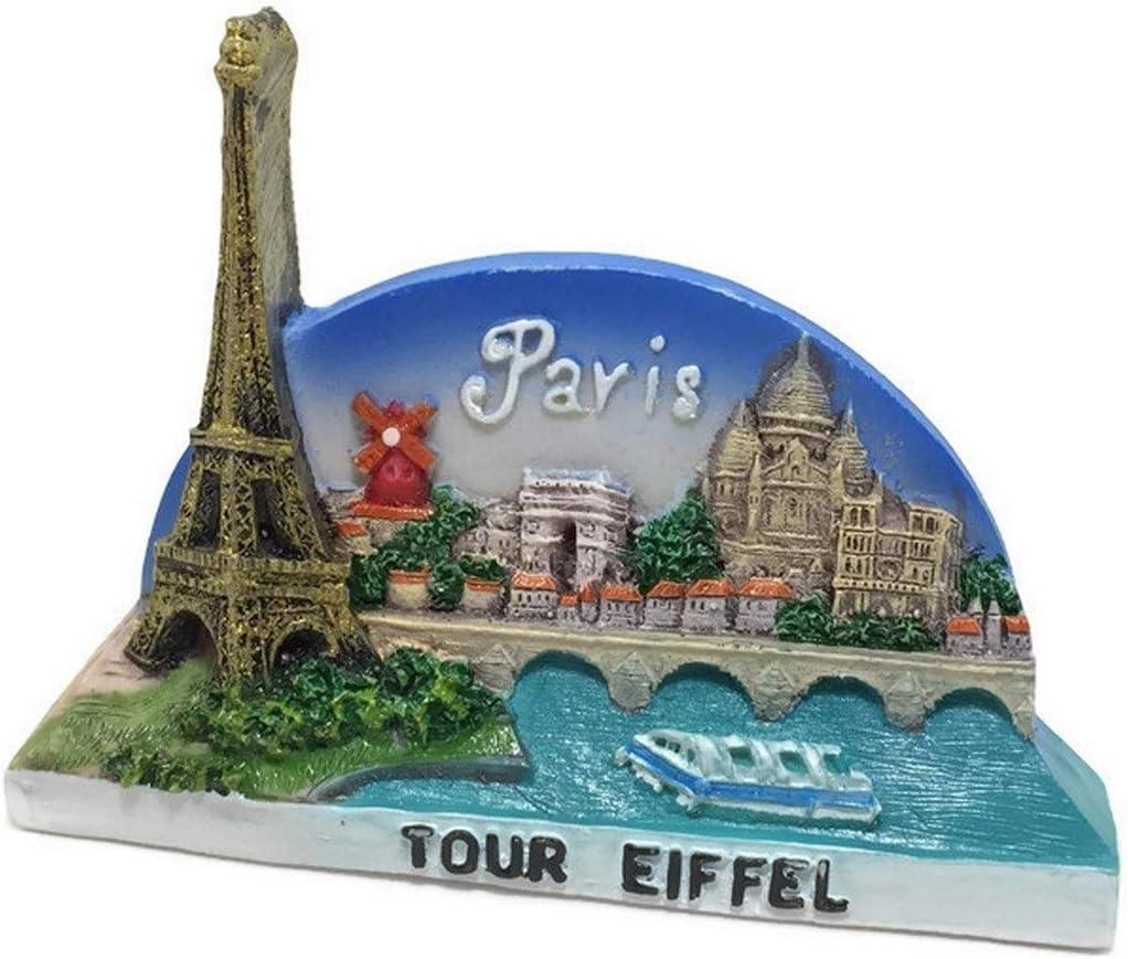 France Travel Souvenir Fridge Magnet TOURS