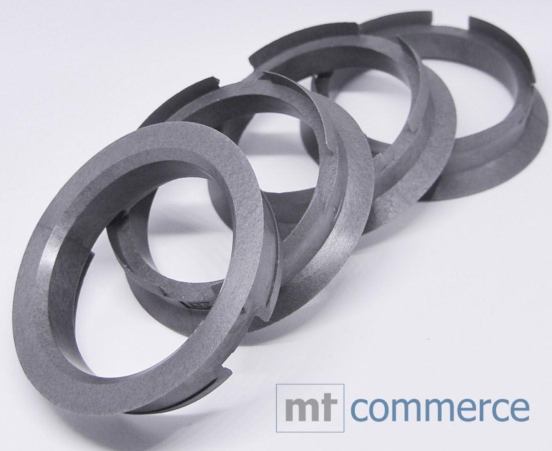 CRK 4X Zentrierringe 63,4 x 54,1 mm Silber Felgen Ringe Made in Germany