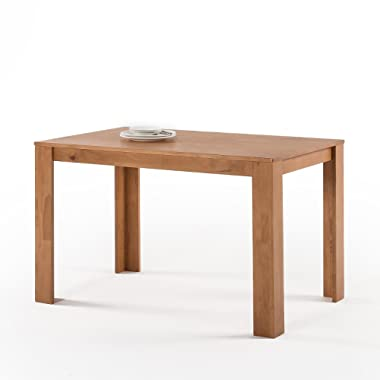 Zinus Mission Style Wood Dining Table, Natural/Table Only