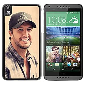 Popular HTC Desire 816 Case ,Beautiful And Unique Designed With Luke Bryan Black HTC Desire 816 Cover