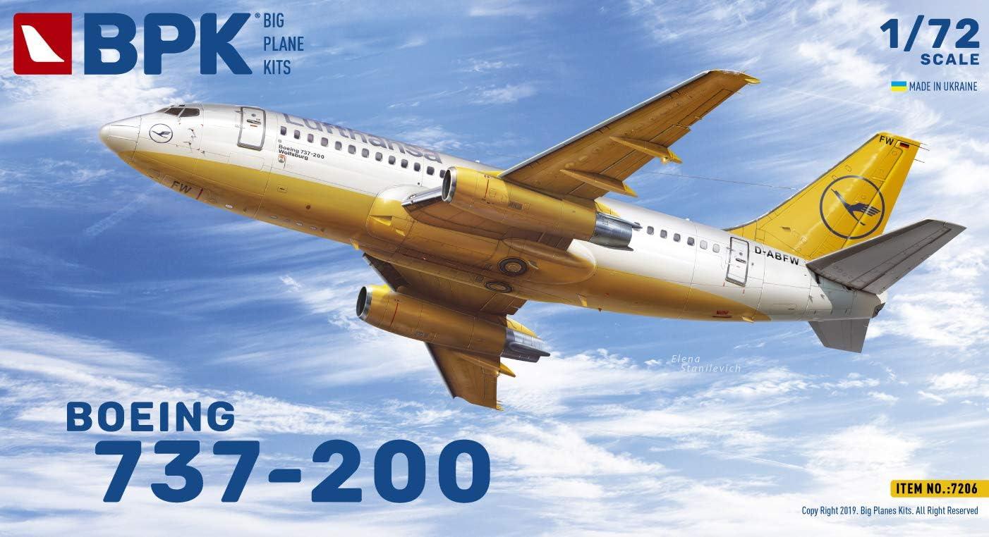 1//72 BPK Boeing 737-200 7206