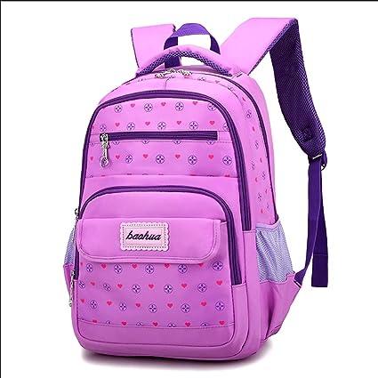 Backpack - Childrens School Bag Primary School Girl 6-12 Years Old Princess Bag 3