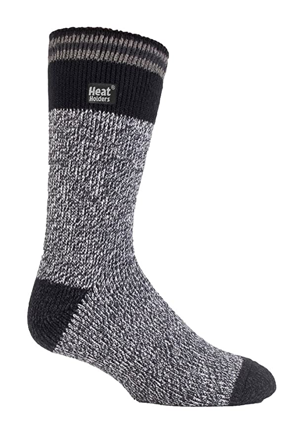 Amazon.com: Heat Holders - Mens Patterned Twist Thermal Socks in 35 Colours, Size, 7-12 Us (Alston): Clothing