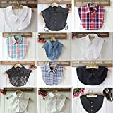 Search : Magik Choker Necklace Unisex Women Peter Pan Detachable Lapel Shirt Fake False Collar