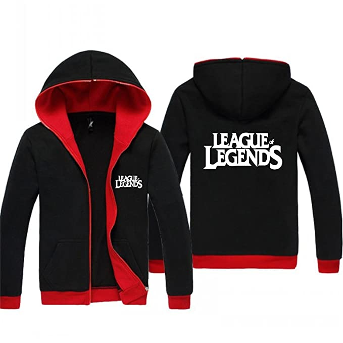 moeda League of Legends Spring Thin con capucha para hombre sudadera polar con cremallera: Amazon.es: Ropa y accesorios