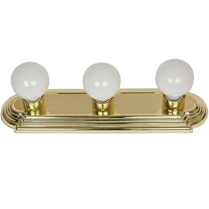best cheap 5714a 54dd7 Sunlite 45050-SU Bathroom Vanity Light Fixture 18