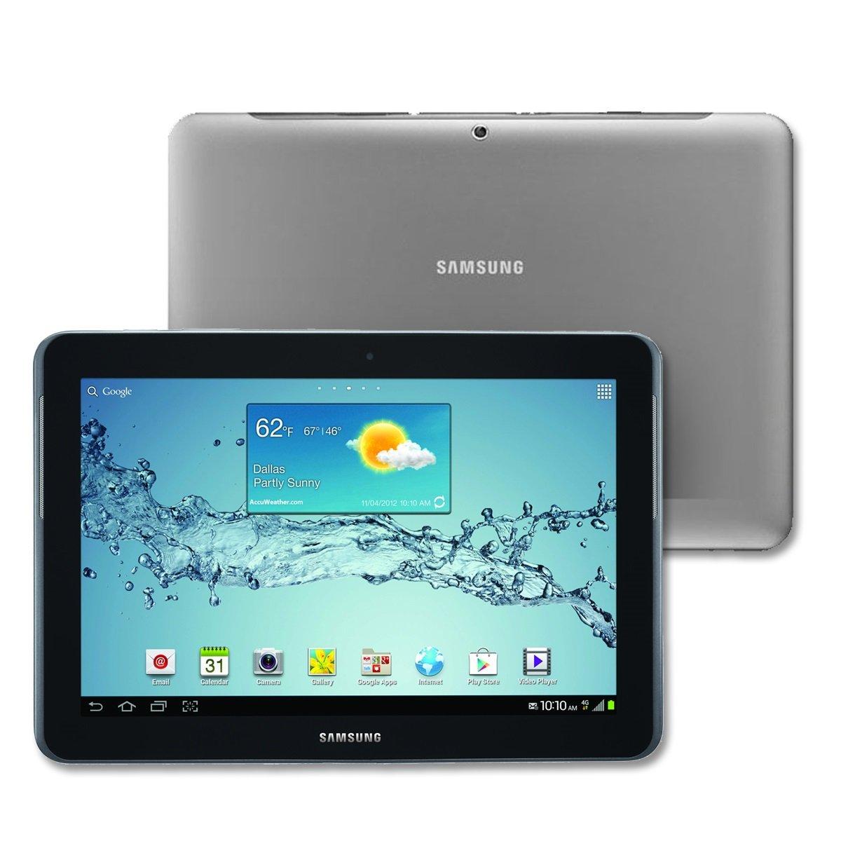 Amazon com samsung galaxy tab 2 10 1 16gb titanium silver tablet computers computers accessories