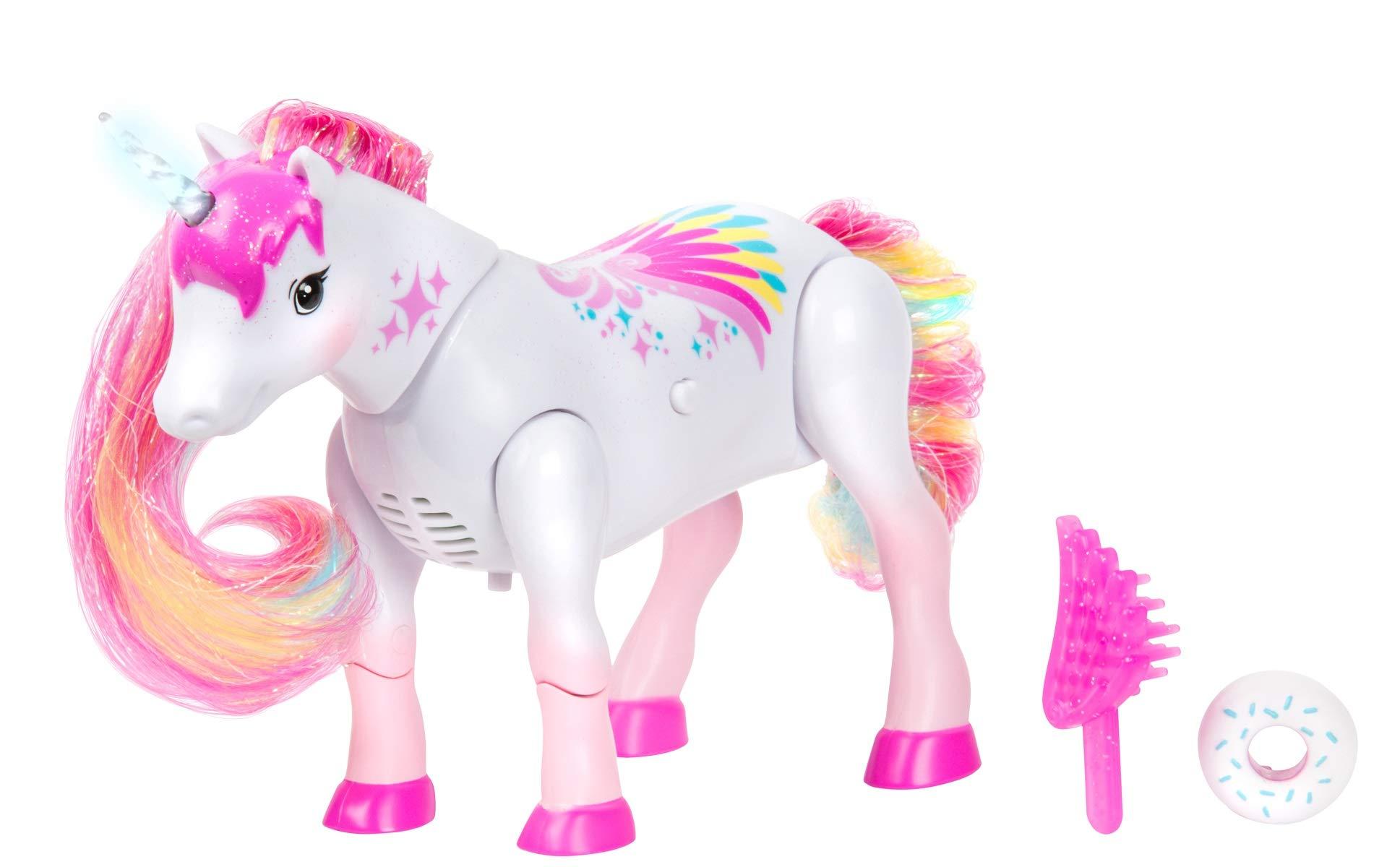 Little Live Pets Shimmer My Dancing Unicorn Rainbow Colors 4
