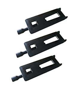 VICOOL hyB925 (3-Pack) BBQ Replacement Cast Iron Burner for Sam's Club, Bakers and Chefs, Grand Hall, Members Mark, Lowes Model Grills 16'' Long