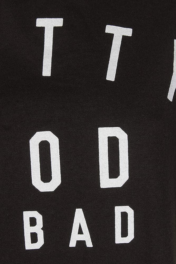 Hybrid Trendy Plus Size Cotton Bad Decisions Graphic T-Shirt