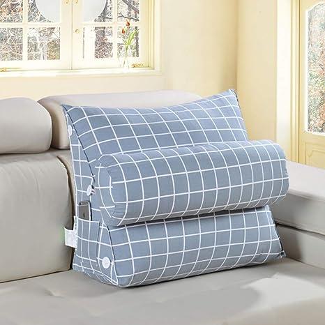 Cojines sofas Cojines cama Sofa cushion Almohada de cuña de ...