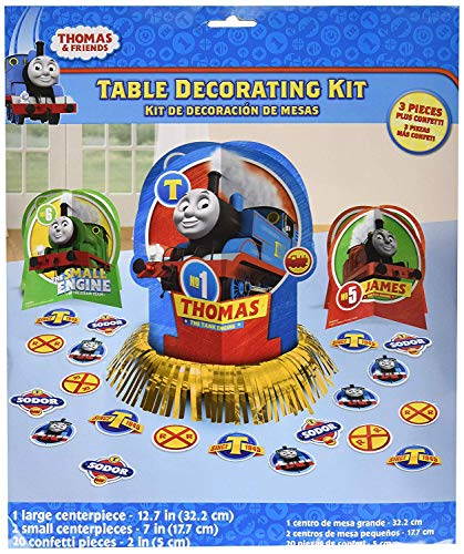 (Thomas The Train Birthday Party Favor Table Centerpiece Decoration)