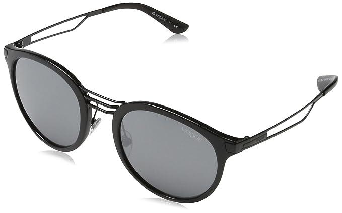 VOGUE 0vo5132s W44/6g 52 Gafas de sol, Black, Mujer: Amazon ...