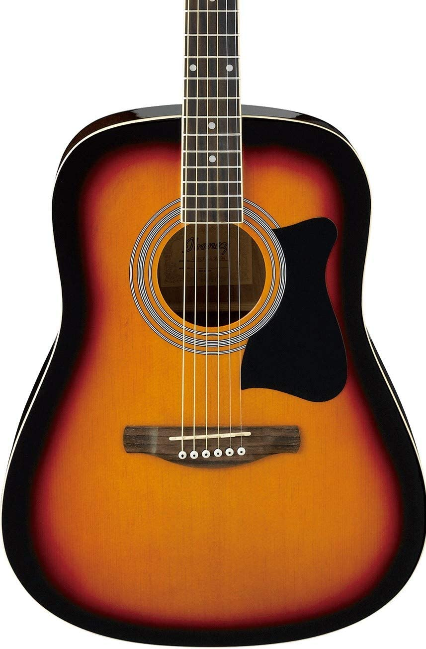 Ibanez V50NJP-VS - Guitarra acústica, color vintage sunburst: Amazon.es: Instrumentos musicales