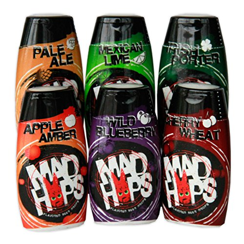 Mad Hops Variety 6-Pack: Add Flavor, Color, Aroma to Your Beer