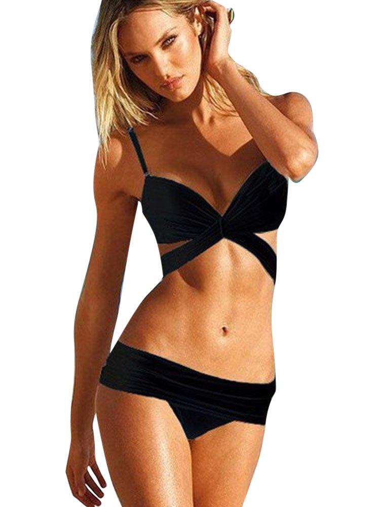 gilola donne avvolgere bikini della spiaggia costume da bagno spinge verso