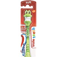 Aquafresh Little Teeth (3-5 yrs) Toothbrush Soft (designs and colours may vary)