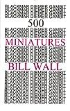 img - for 500 Blackmar-Diemer Gambit Minatures book / textbook / text book