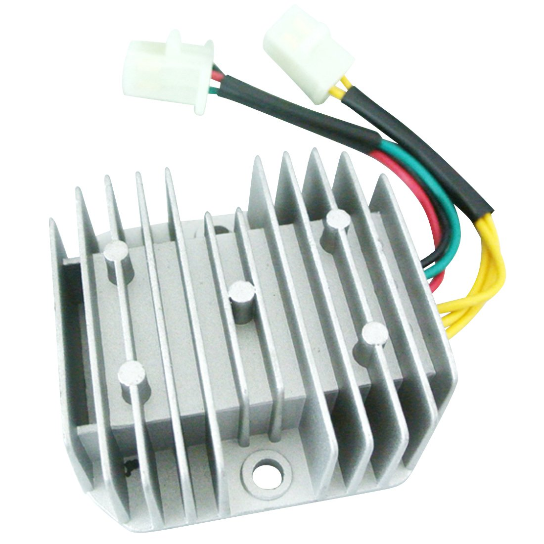 Amazon.com: New 12V 6-Wire DC Voltage Regulator Rectifier For GY6 150 200  250cc Scooter Quad: Automotive