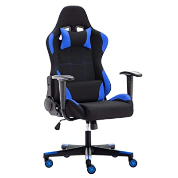 IntimaTe WM Heart Silla Gamer, Silla Gaming Silla Escritorio Giratoria, Altura Ajustable Respaldo Inclinable hasta 135 ° con Apoyabrazos Fijos: Amazon.es: ...