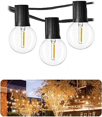Sunsbell Luces solares de cuerda Globe - Luces navideñas para ...
