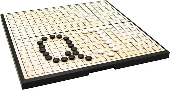 Blesiya Juego de Ajedrez Puzzle de Piedras Go Board Magnético Juegos de Mesa para Niños: Amazon.es: Juguetes y juegos
