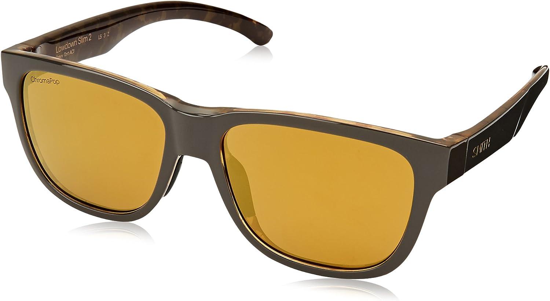 Smith Optics Lowdown Slim 2 Gravy Tortoise//CHROMAPOP Polarized 53//16//145 Unisex Sunglasses