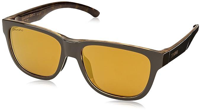 d8b44d484f Amazon.com  Smith Optics Lowdown Slim 2 Gravy Tortoise CHROMAPOP ...