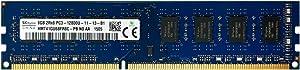 Hynix original 8GB, 240-pin DIMM,Unbuffered, NON ECC, DDR3 PC3-12800 desktop memory module