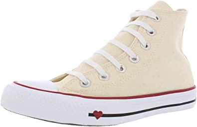 Arte modelo Revelar  Amazon.com | Converse Chuck Taylor All Star Hi Unisex Shoes Denim Love  Natural/White/Garne. | Fashion Sneakers