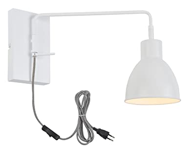 Its about romi nottingham applique murale e27 40 w blanc: amazon.fr