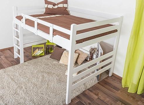Hochbett Erwachsene hochbett für erwachsene easy k15 n buche vollholz massiv