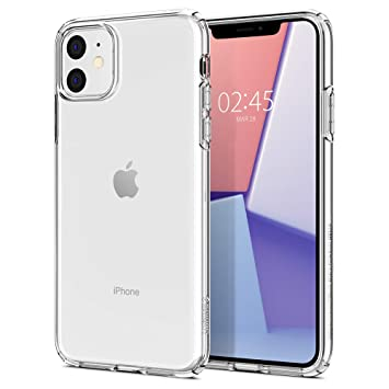 iPhone 11 ケースレンズ保護クリア リキッド・クリスタル 076CS27179 (クリスタル ・クリア)