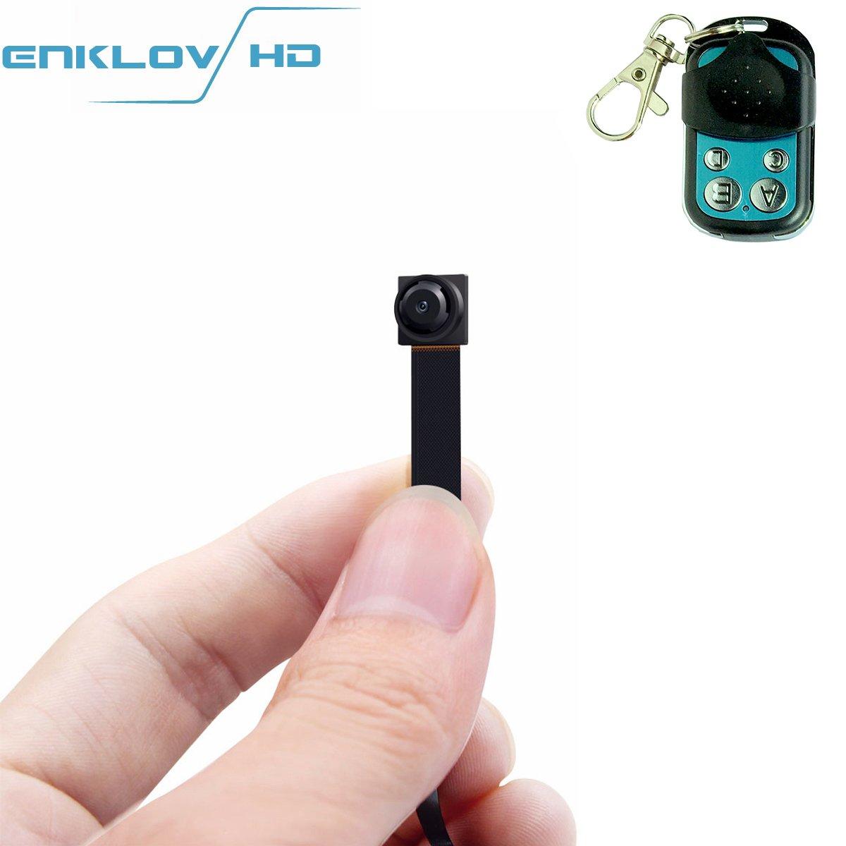Security Spy Cameras Hidden: 1080P Portable Mini Hidden Spy Camera ENKLOV Video