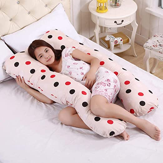 EABBY - Cojín para Embarazadas de 75 x 135 cm, de algodón ...