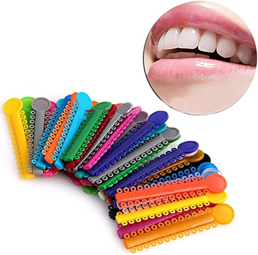 RivenDell 40 Unids/Pack Dental Elastomérico Ligadura Corbatas ...