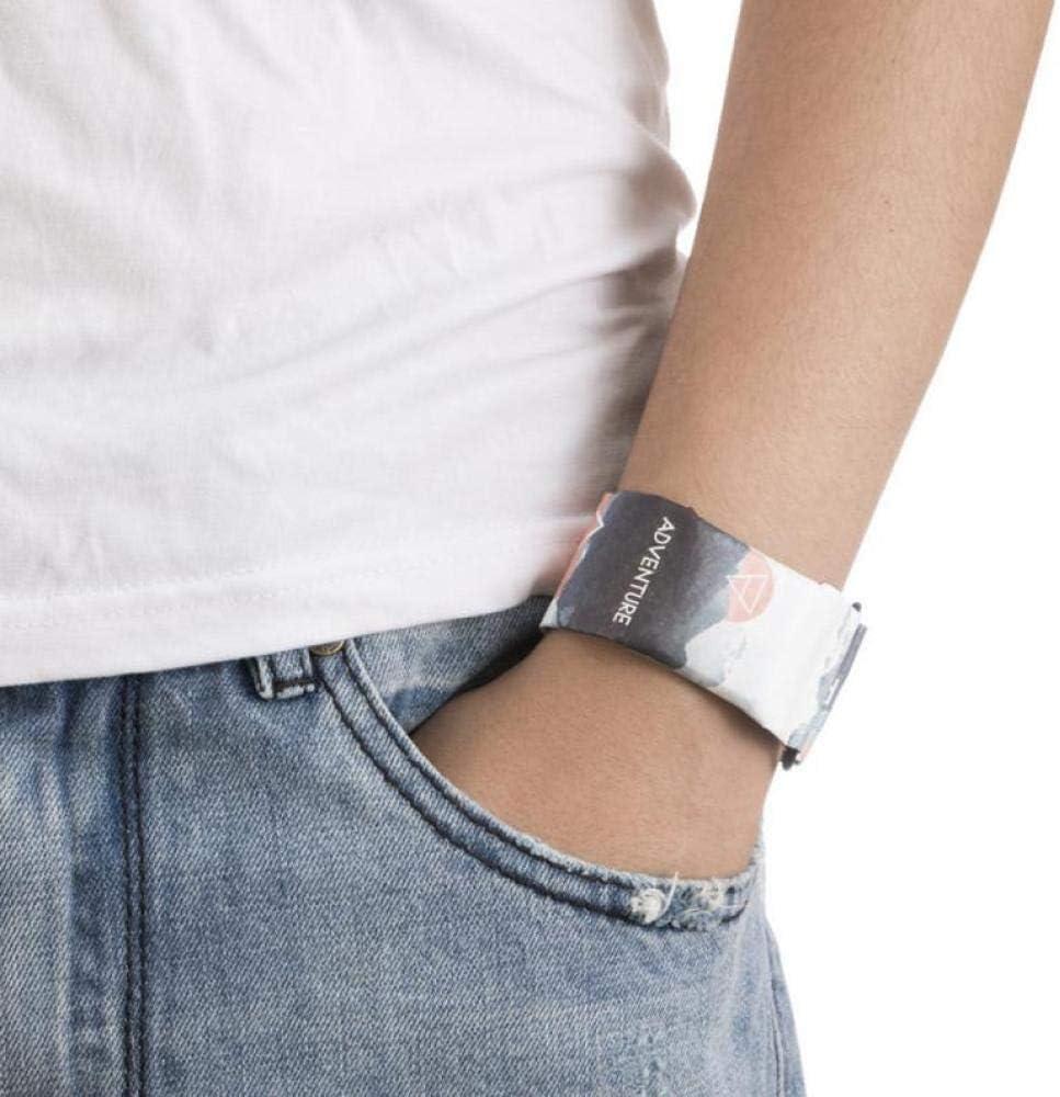 Montre électronique En Papier Imperméable à L'eau Montre-bracelet Numérique En Tyvek Imperméable à La Main Cadeau De Noël Pour Les Amis Et La Famille,C6 A4
