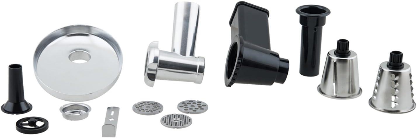 H.Koenig AC6 Stand Mixer Para KM60S AC6-Juego de accesorios para robot de cocina multifunción, acero inoxidable, plástico: Amazon.es: Hogar