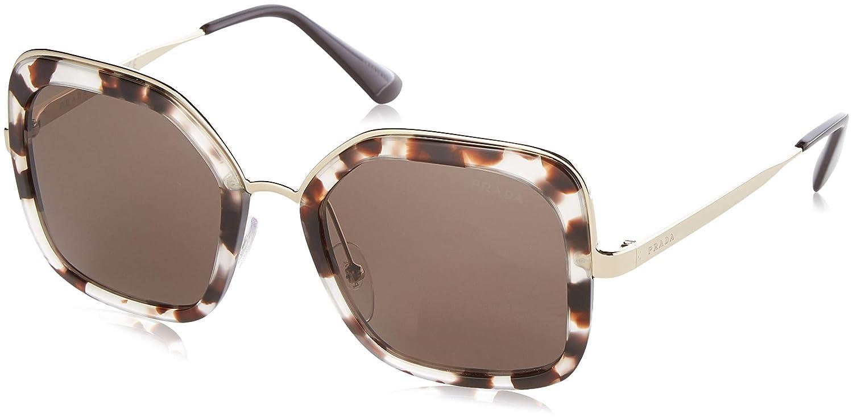 a3f9c8aabd Amazon.com  Prada PR57US UE06X1 Pink Havana PR57US Square Sunglasses Lens  Category 3 Size 5  Prada  Clothing