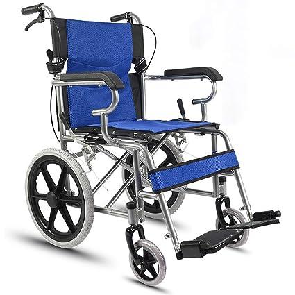 Silla de ruedas, silla de ruedas para discapacitados Carro para ...