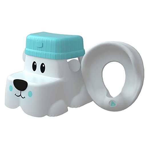 Squatty Potty Kids Pet Toilet Stool Kit Cub Base with Hat and Seat, 2.5 Pound
