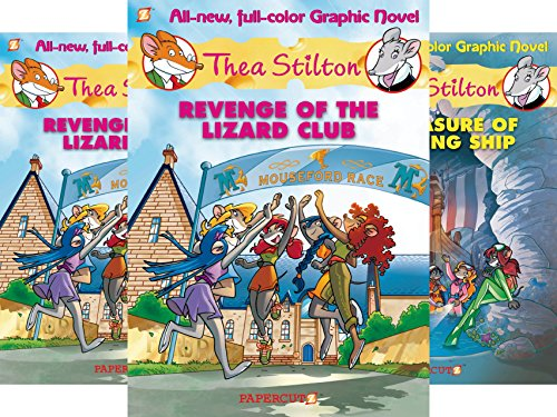 Thea Stilton Graphic Novels (7 Book Series)