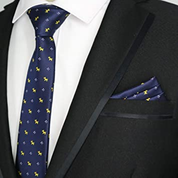 MU Leisure Men S Tie 27 Color 6Cm Men Tie Set Skinny Polyester ...