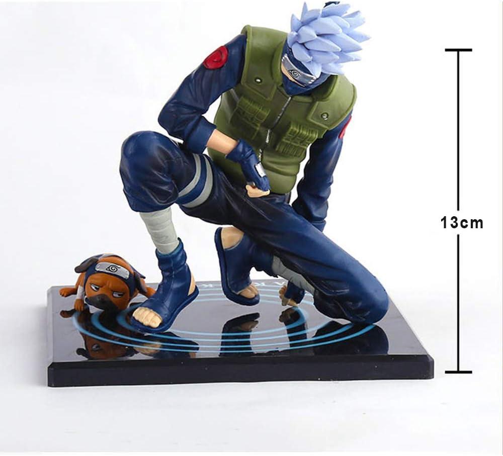 MYZYF Naruto Kakashi Figura PVC Estatuas 13cm Juguete Hobbies Merchandising Estatuas Bustos Ni/ño Y Ni/ña,A