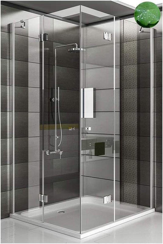 Esquina. Ducha cabina de ducha pared Incluye los arañazos de vidrio Mampara 3078193010 métrica 100 x 120 x 195: Amazon.es: Bricolaje y herramientas